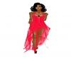 (Zg) Hot Pink Dress