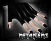 CEM Dark Wedding Gloves