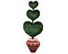 Hearts Topiary