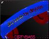 !B Blue Red Headphones