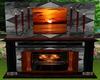 Sunset Fireplace