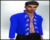 Native Open Blue Shirt