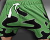 Short Flames green