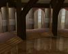 wooden beam room