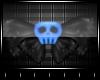⚜Blue Skull Bow⚜