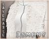 [Is] Fur Shrug White