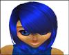 Carmela Blue Hair