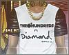 ز Hundreds Diamond Tee