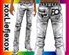 [L] Fox Leather Silver