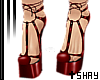 S~ Winged Heels Red