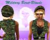 ~LB~Military Beret-Blond