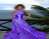 Luna Classy Purple Gown