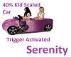 40% Kid Car Trigger