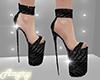 Black Heels Glitter