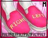 Left/Right Pink (socks)