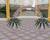 ^z Wedding Arch dorado
