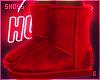 в. UGG Boots Red