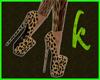 Leopard black beige k