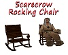 Scarecrow Rocking Chair