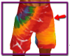 Tie Dyed Swim Trunks