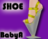 BA Yellow Cosmic Shoes