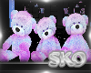 *SK*Cotton Candy Bears