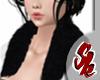 Fur Shawl [Black]