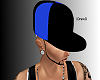 Black and Blue Fitted