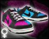 Pink/Blue Dunks [F]