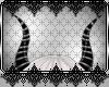 *D™Blk/Silver Horns M/F