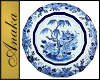 Blue Willow Plate Single