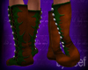 Ren Faire Boots, Forest
