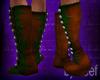 Ren Faire Boots, Forest