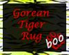 [boo] -  Tiger Rug