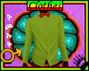 Tck_Bow Ties Green Shirt
