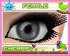 Empty Grey Female Eyes