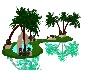 Mountain Garden Waterfal