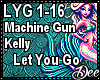 MGK: Let You Go