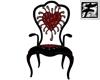 ~F~ Maggot Heart chair