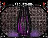 {R} Purple Floor Lamp