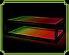 Glass Glow Table Rainbow