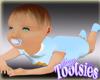 Baby Boy Max Tummy Time