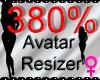 *M* Avatar Scaler 380%