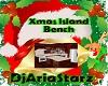 xmas island bench