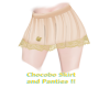 Chocobo Skirt & Panties