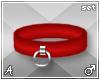 A| Misa Red Cuff Set (M)