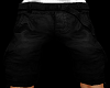 [C] Black Long Shorts