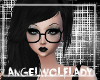 [A] Nerd Glasses ~Black