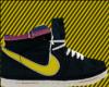 Nikes Black Yellow