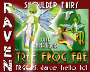 TREE FROG SHOULDER FAIRY